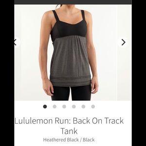 Lululemon Run Tank Top